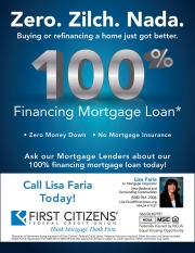 First Citizens 100% Financing Mortgage Loan