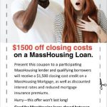 $1,500 Coupon Off Closing Costs on MassHousing Loan!