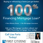 First Citizens 100% Financing Mortgate Loan