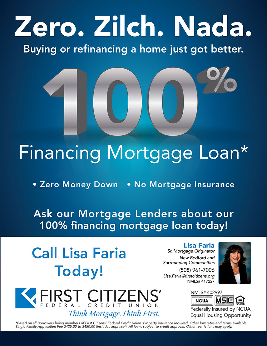 First citizens 100 financing mortgage loan fall river for Can you get a loan for land