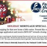 Holiday Mortgage Special
