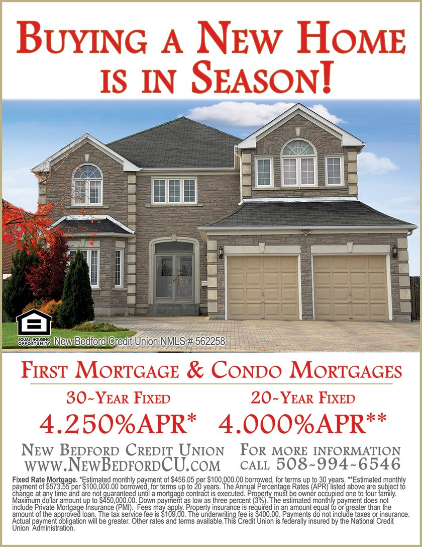 Buying A New Home Is In Season Fall River New Bedford Housing
