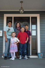 Sara Smith Lewis & Family First Time Homebuyer