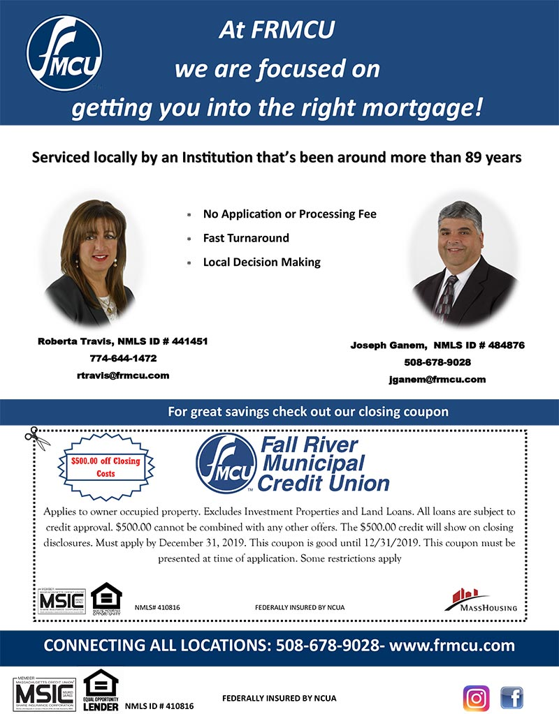 At FRMCU we are focused on getting you into the right mortgage!