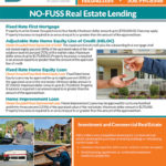 NO-FUSS Real Estate Lending