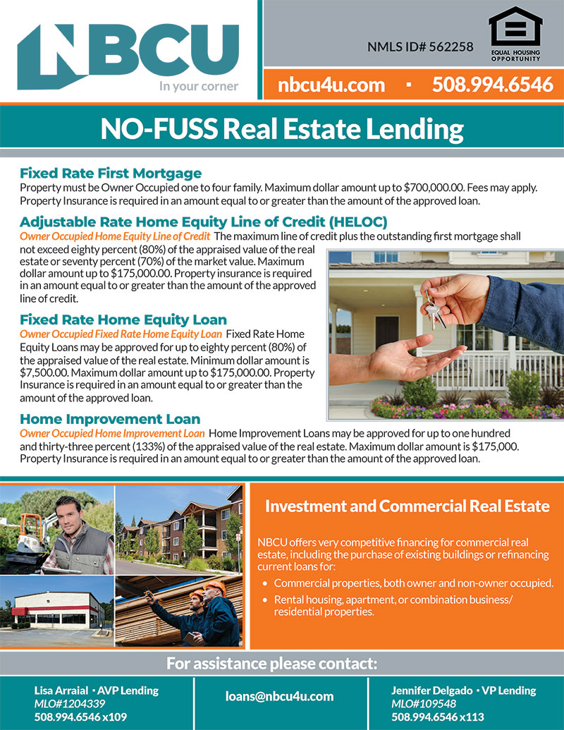 NO-FUSS Real Estate Lending